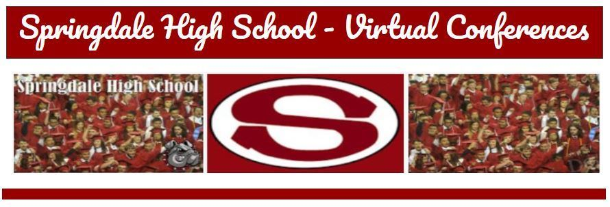SHS Virtual Student Conferences - Sep. 14 & 15