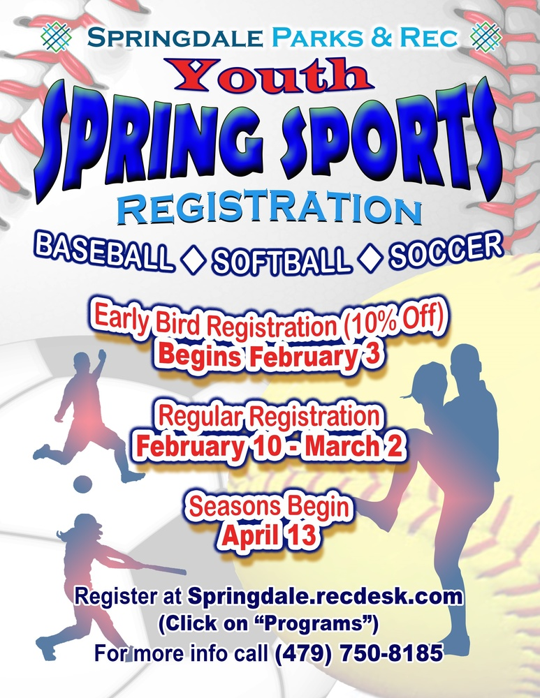 Youth Spring Sports Registration