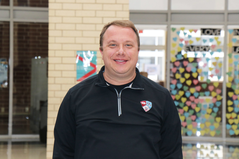 PAUL GRIEP – PRINCIPAL, SPRINGDALE HAR-BER HIGH SCHOOL