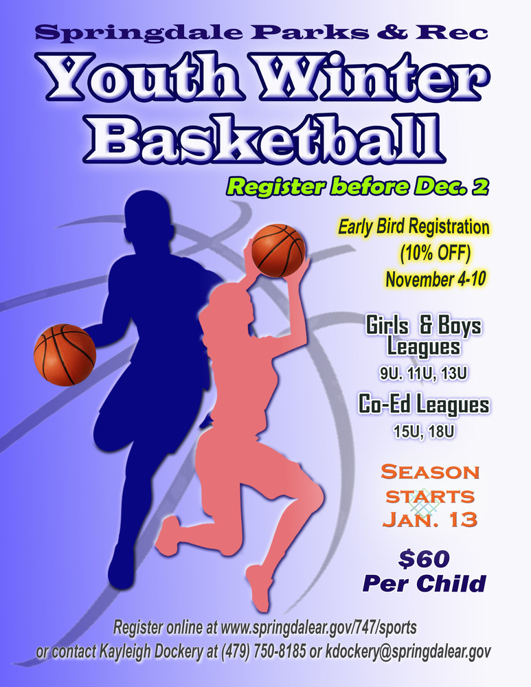 Youth Winter Basketball Registration