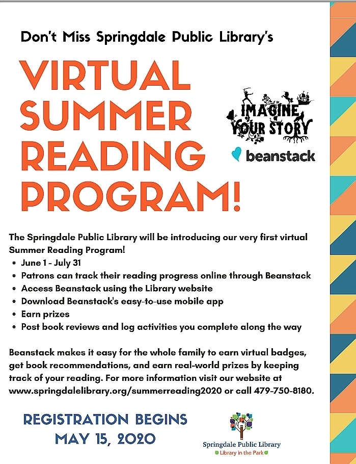 Virtual Summer Reading Program