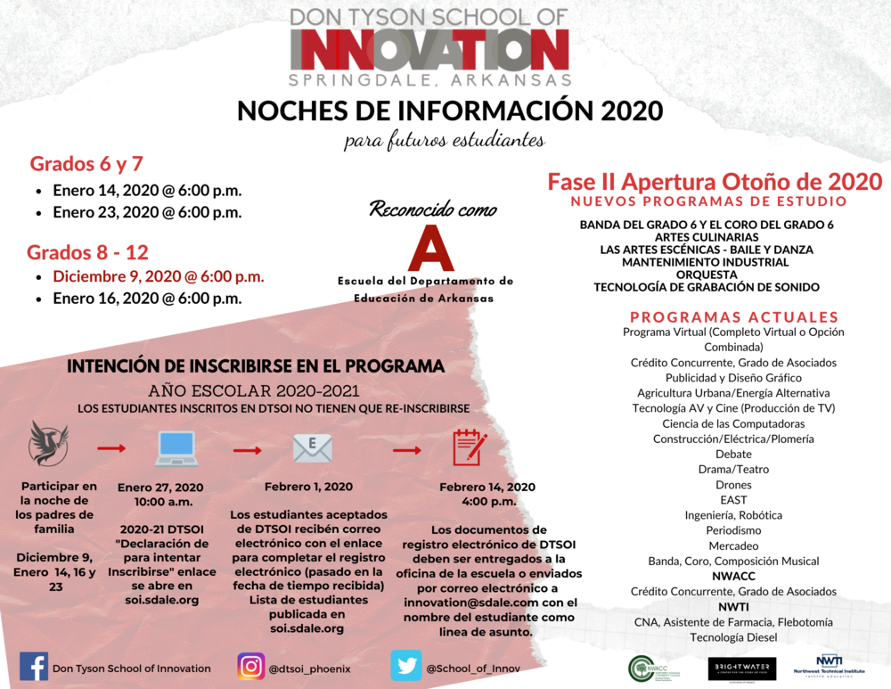 School of Innovation - Noches De Informacion 2020