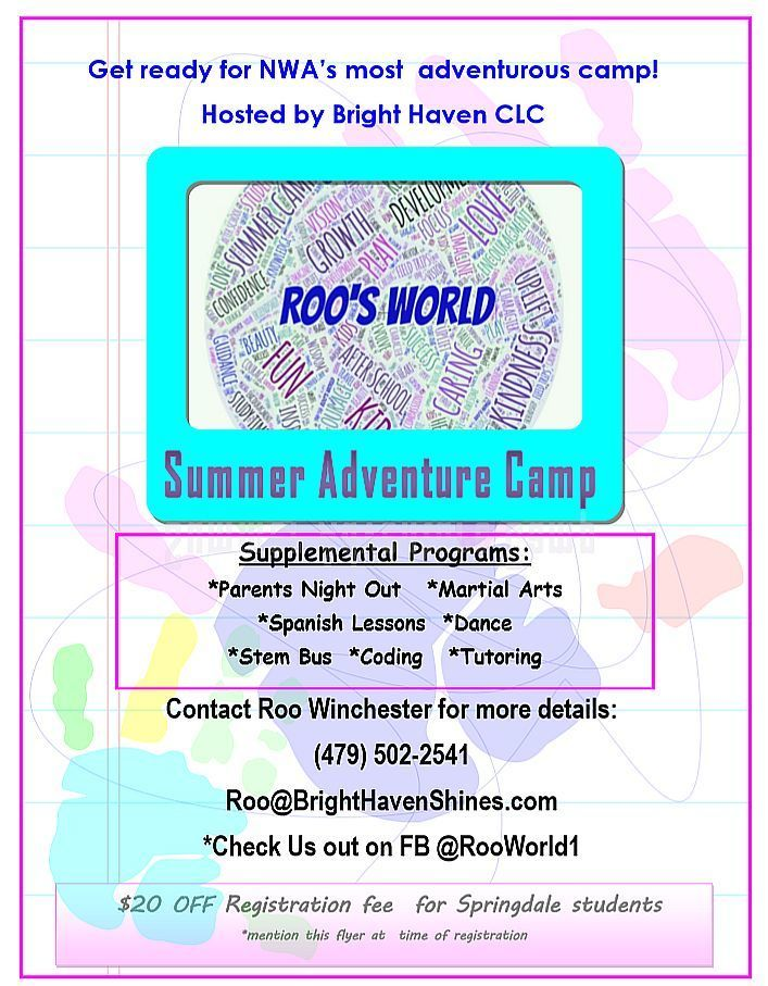 Roo's World Summer Adventure Camp