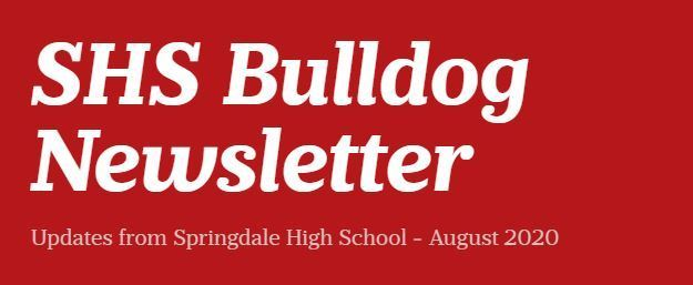 SHS Bulldog Newsletter - August 2020