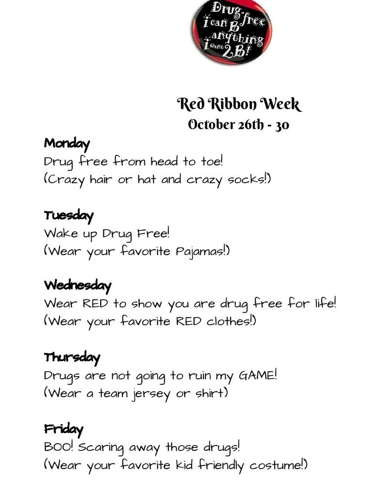 Red Ribbon Week - English