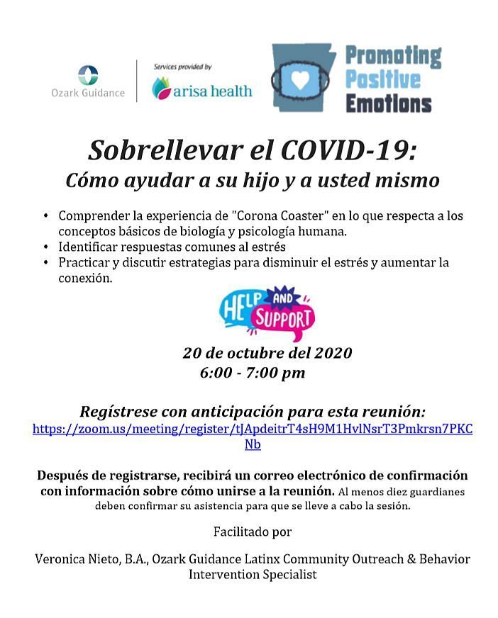 Parent Night - Spanish - Coping with Covid-19