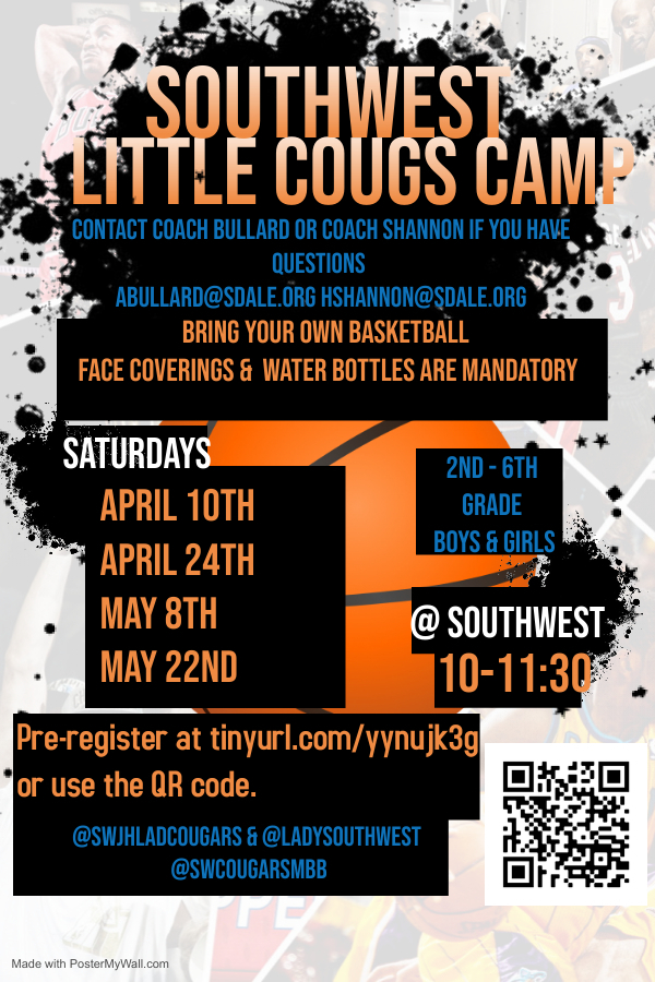 Southwest Little Cougs Camp