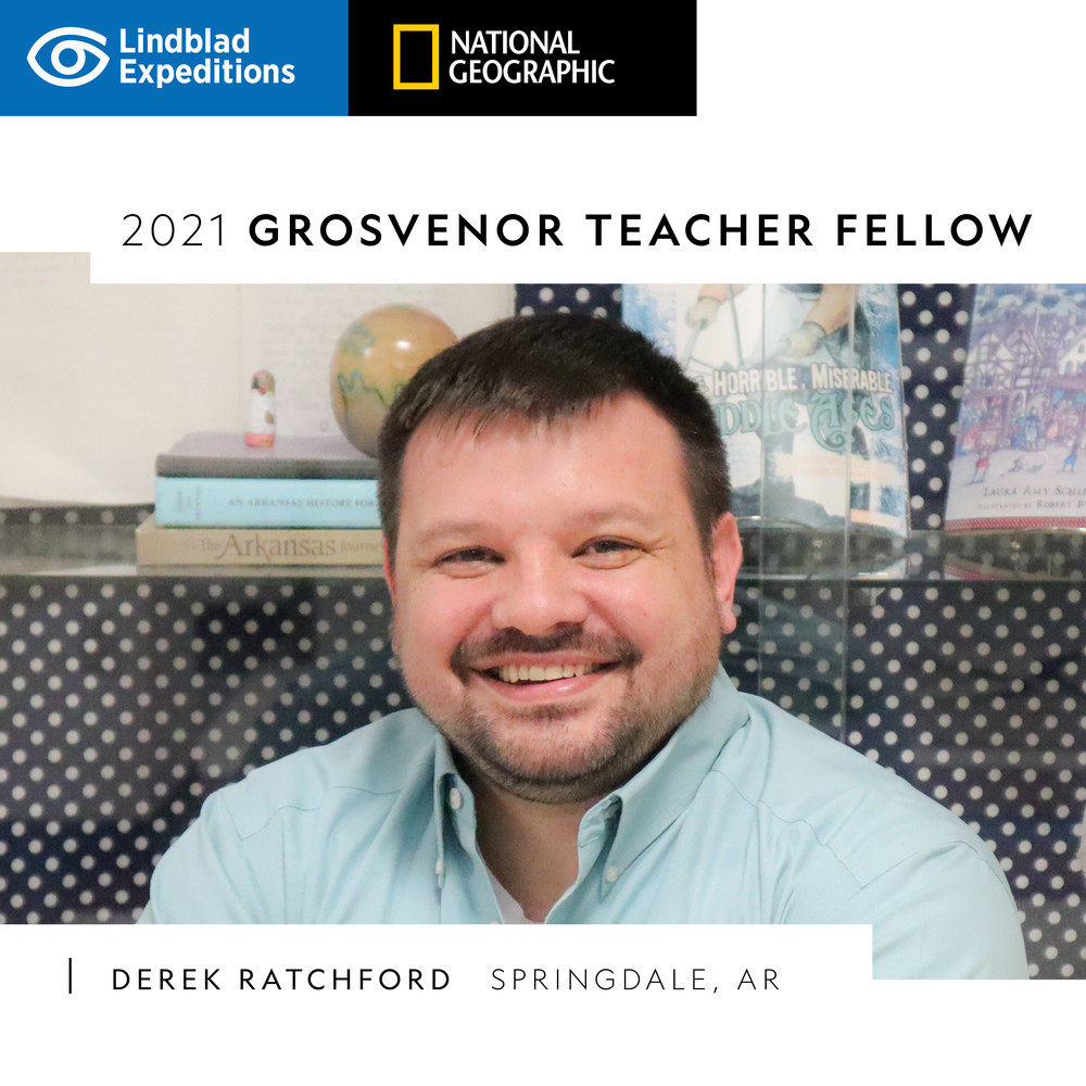 ​DEREK RATCHFORD SELECTED AS GROSVENOR TEACHER FELLOW
