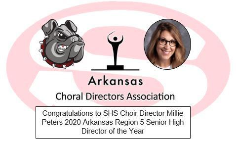 Millie Peters - Region 5 Senior High Director of the Year