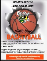 Boys' Basketball Tryouts Sign Up