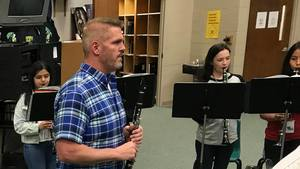 Tyson Middle School's Music Program Recognized Again