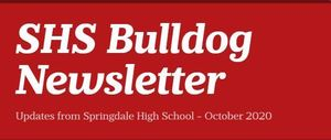 SHS Bulldog Newsletter - October 2020
