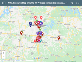 UA student creates Northwest Arkansas COVID-19 resource map