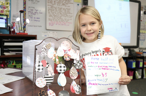 Sonora Third Grader Already Preparing for Medical Career