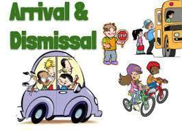 Arrival and Dismissal Procedures 2020-2021