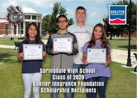 Shelter Insurance Scholarship Winners
