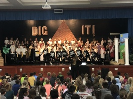 4th Grade Music Program: Dig It!