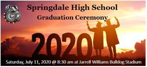 Springdale High School - 2020 Graduation