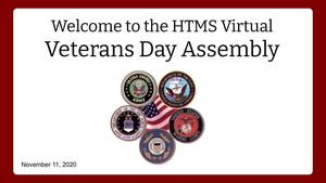 Virtual Veterans Day Assembly 200