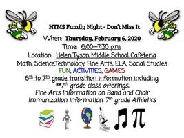 HTMS Family Night