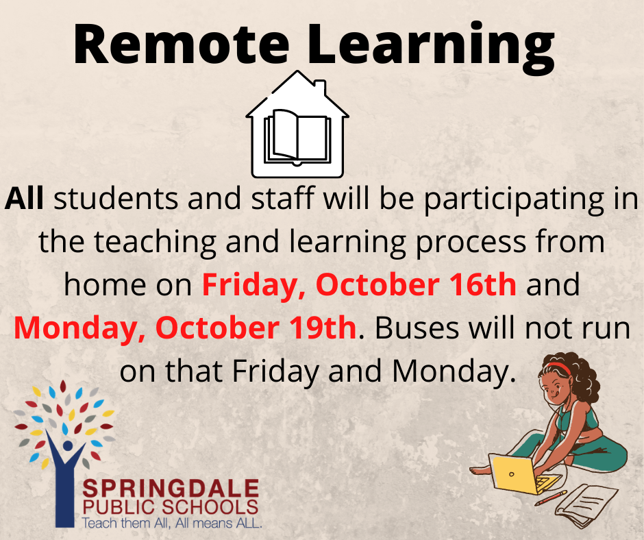 Remote Learning Flyer 1