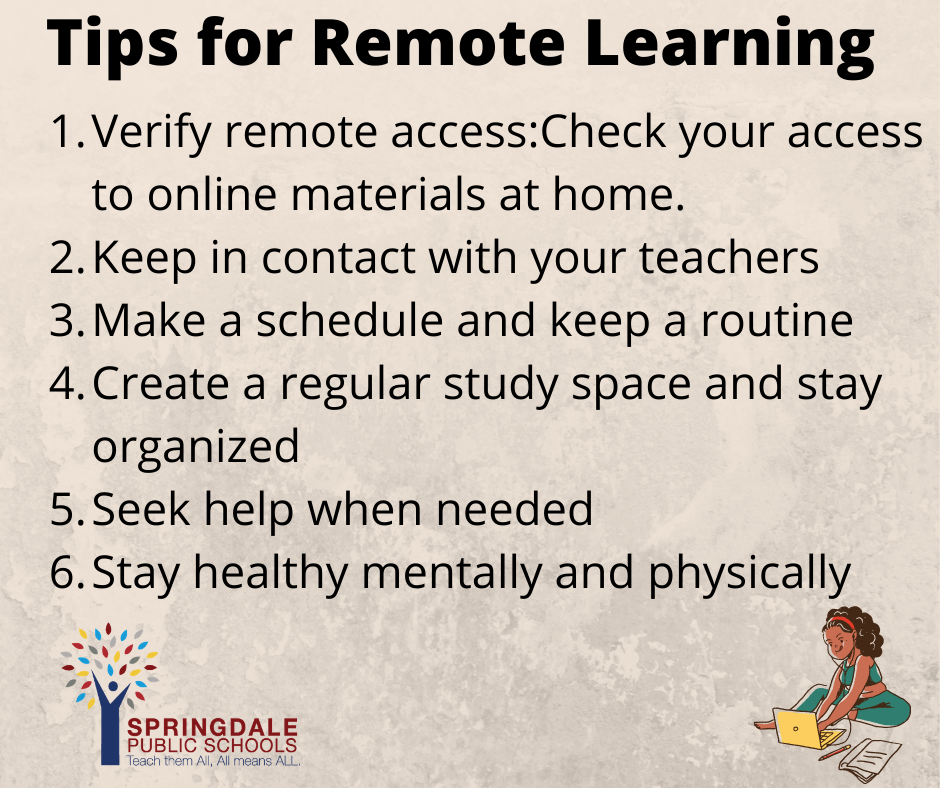 Remote Learning Flyer 2