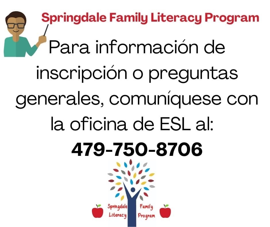 Family Literacy contact number