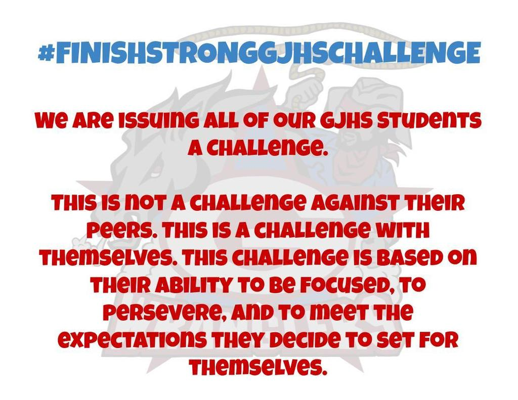 Finish Strong GJHS Challenge