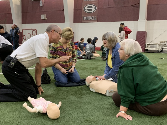 Fire Department CPR Training