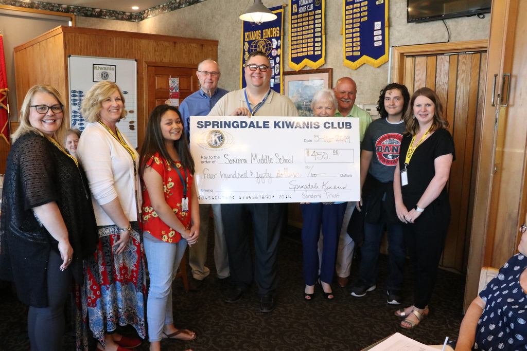 Sonora Middle School Gifted by Kiwanis