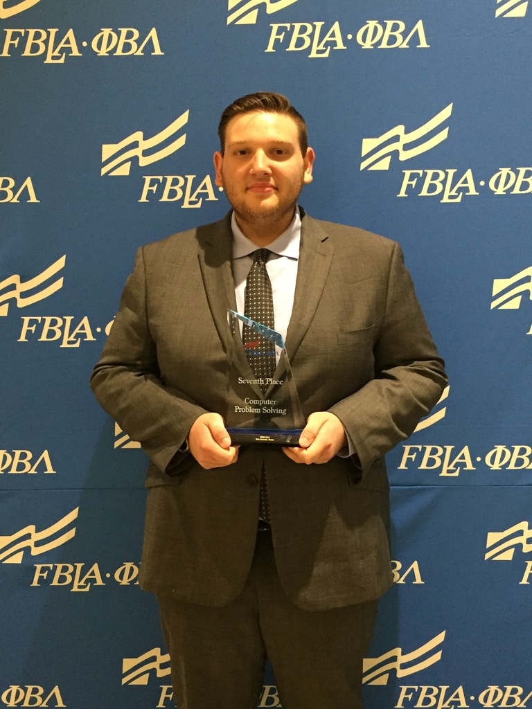 James Darville, SHS at FBLA