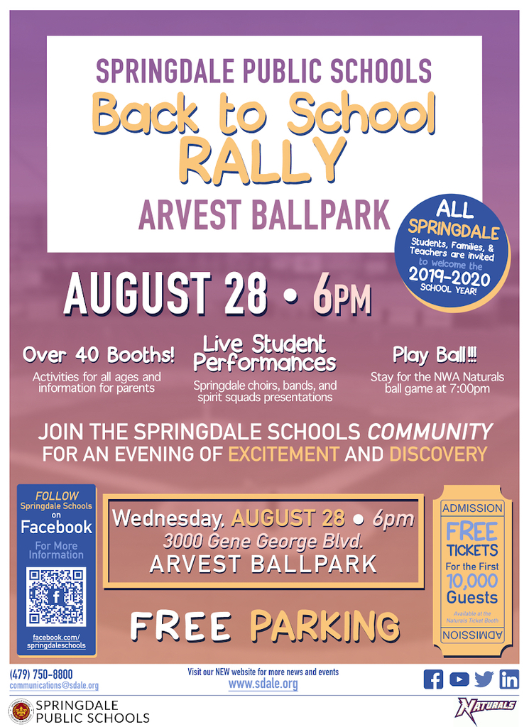 Back 2 School Rally