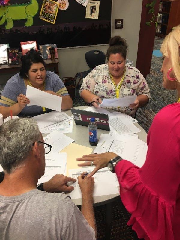 CKE staff digging into data and making strategic plans for a great year! Let your WHY shine!