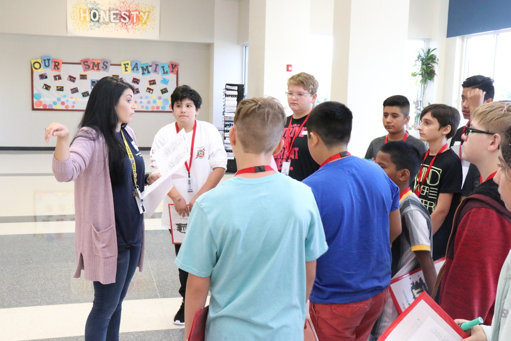 Sonora Middle School student tour