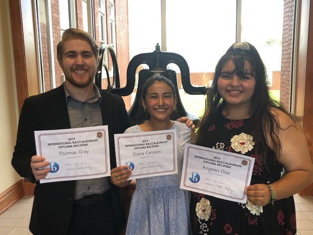 SHS IB Diploma Recipients