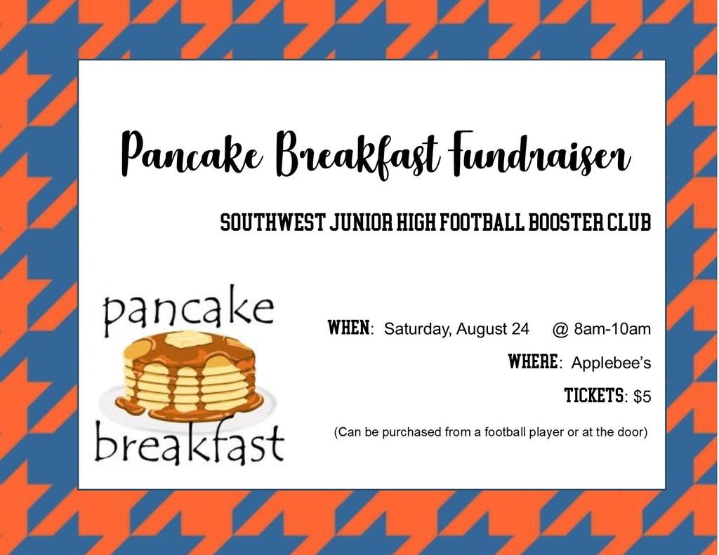 SWJH Pancake Breakfast