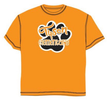 Order your Tyson shirt on Sept 5 during Literacy Night.