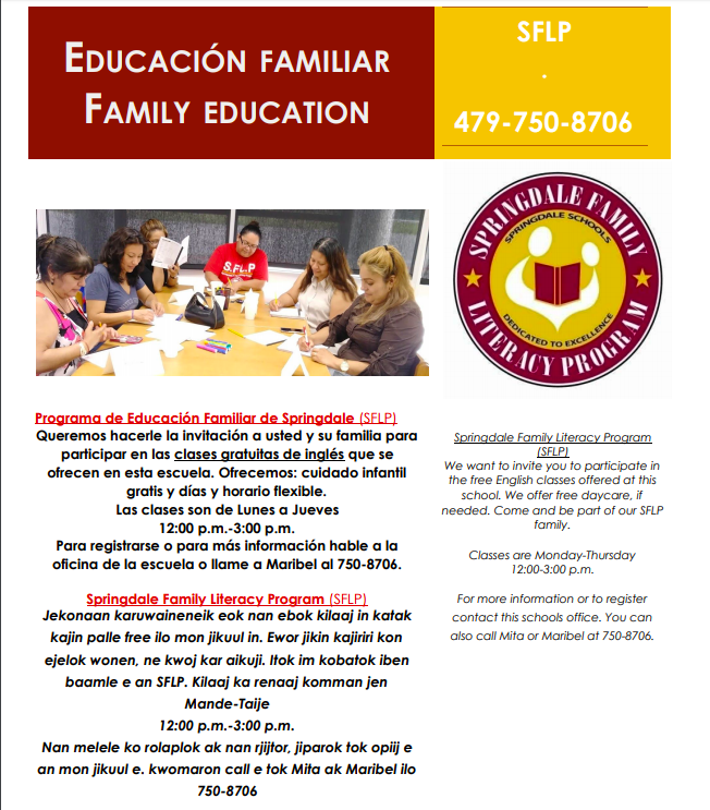 Family Literacy Information