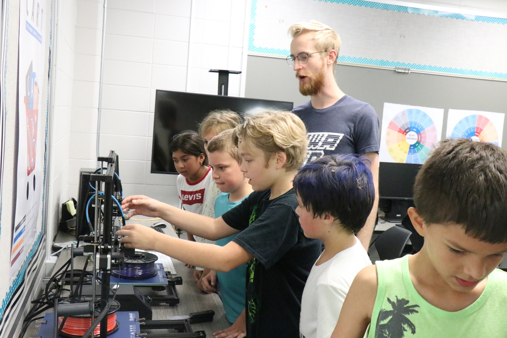 3D Printing at George Elementary