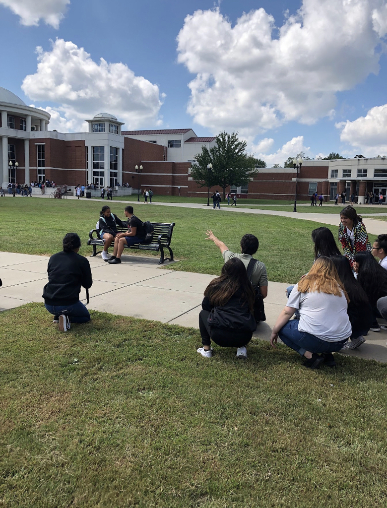 SHS Journalism students got a photography lesson from Anthony Reyes, photographer and Online Editor for the Northwest Arkansas Democrat Gazette!