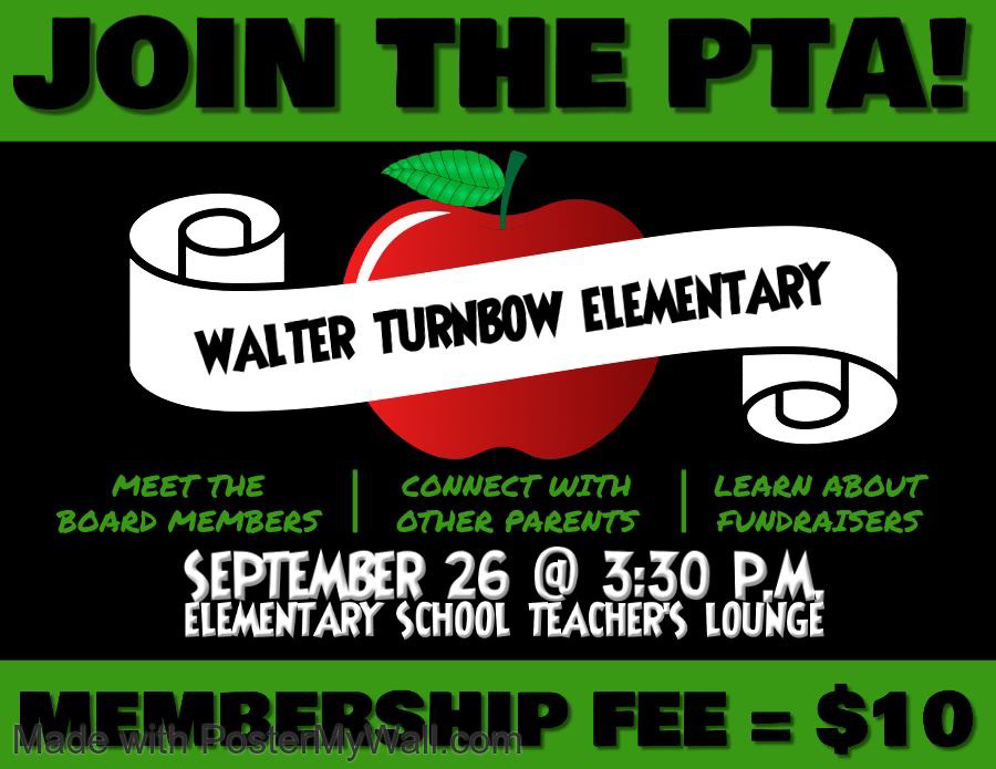 Join Turnbow PTA