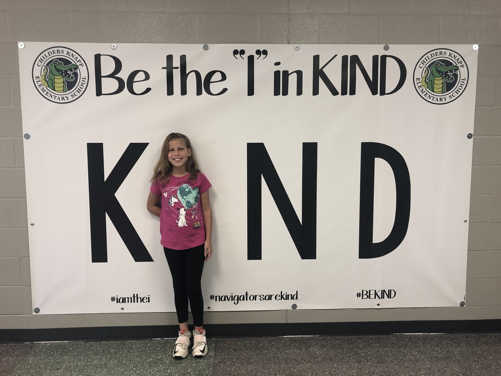 Be the I in kind.