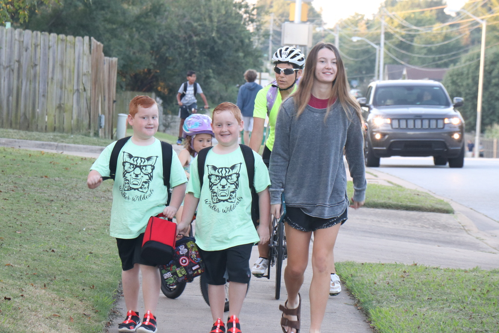 Walker Walk or Bike to School