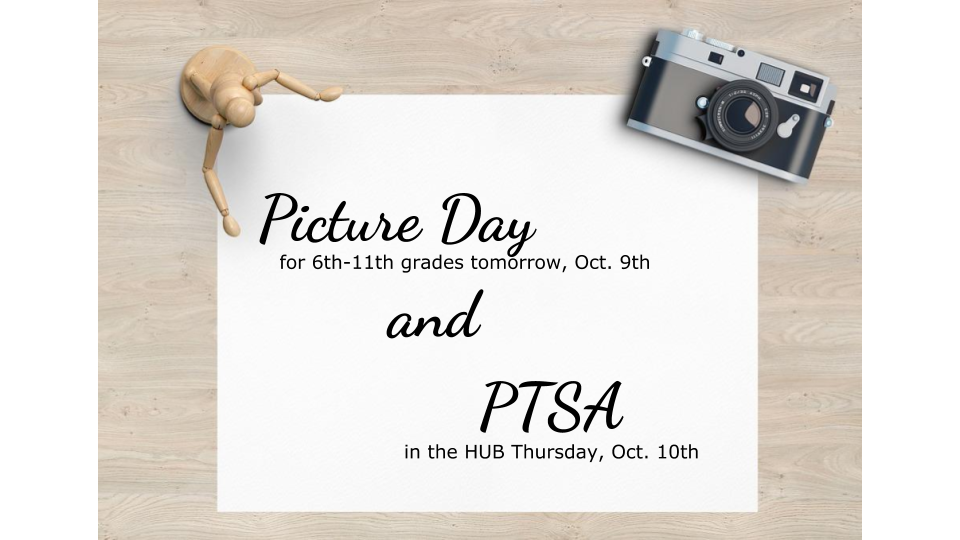 picture day & ptsa