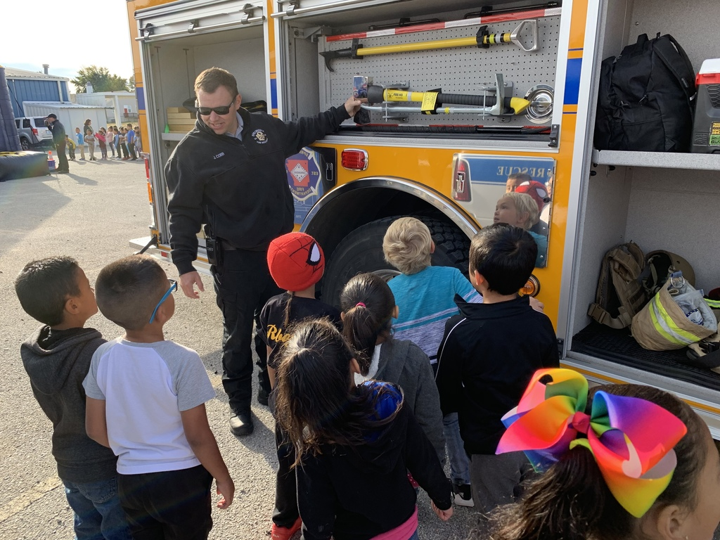 Fire Safety Week at Jones Elementary