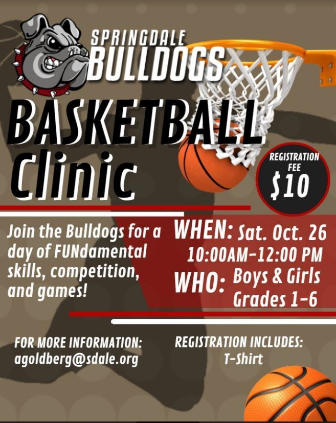 SHS Basketball Clinic
