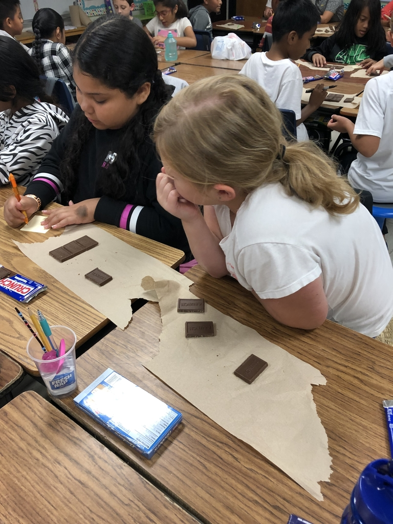 Using chocolate to help learn fractions