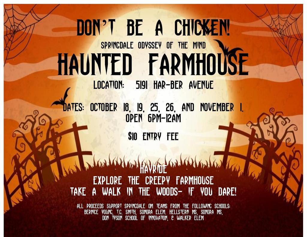 Haunted Farm Event