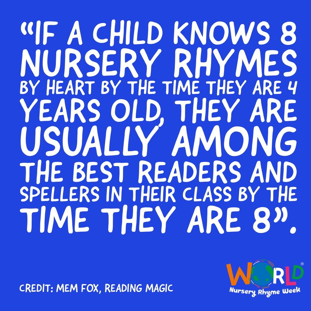 Start early! Rhyming is the first step to reading success!