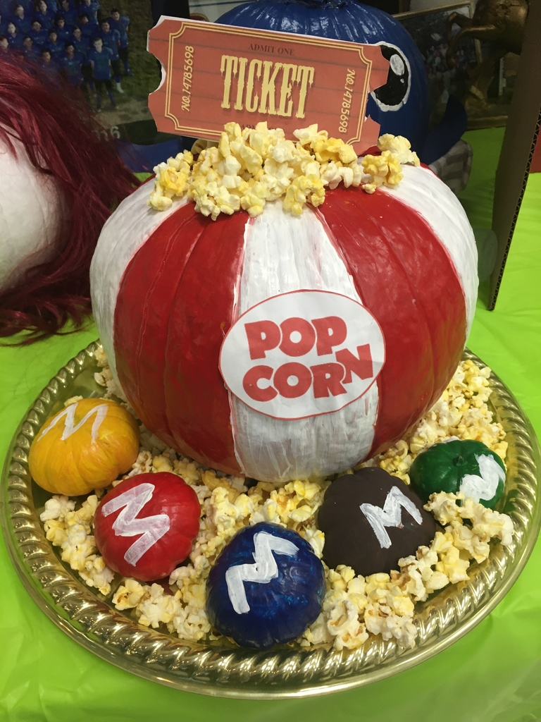 Movie night pumpkin